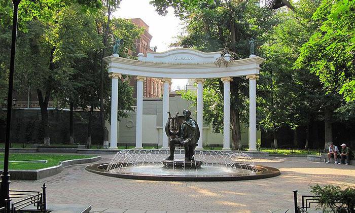 Сад «Аквариум» (фонтан Аполлон) в Москве