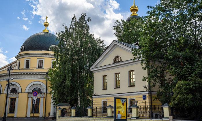 Скорбященская церковь на Большой Ордынке Москвы