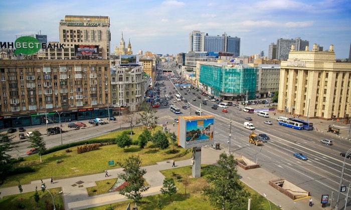 Смоленская площадь в Москве