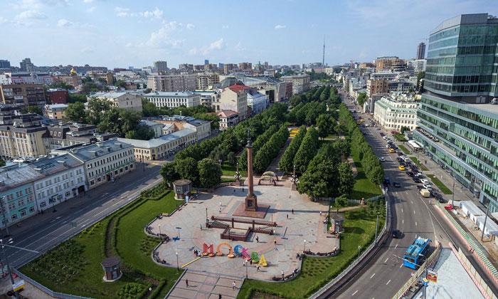 Трубная площадь в Москве