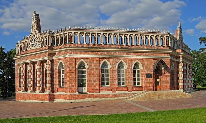 Второй Кавалерский корпус Царицыно в Москве