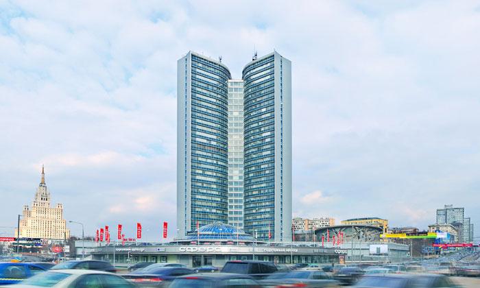 Высотка мэрии Москвы