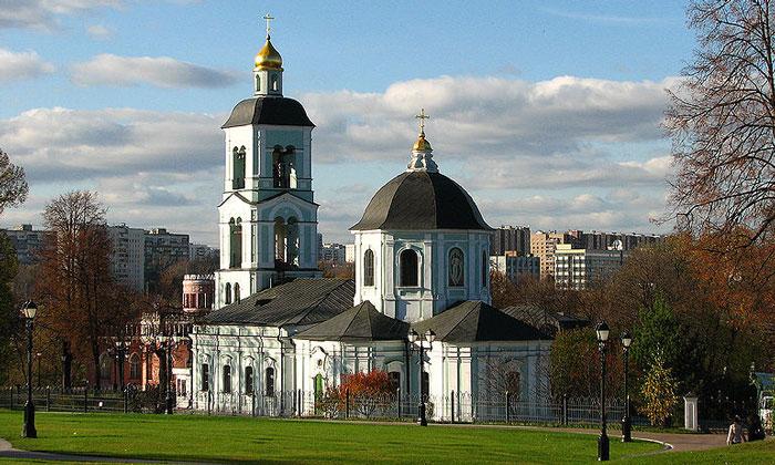 Храм иконы Божией Матери в Царицыно Москвы