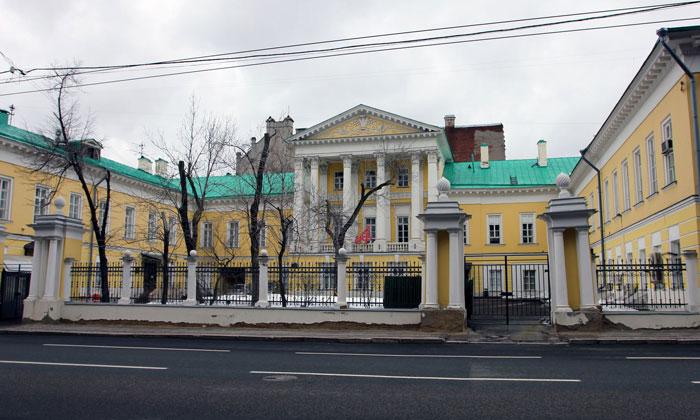 Усадьба Барышникова в Москве