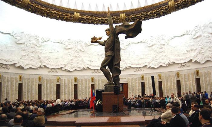Зал Славы музея Победы в Москве