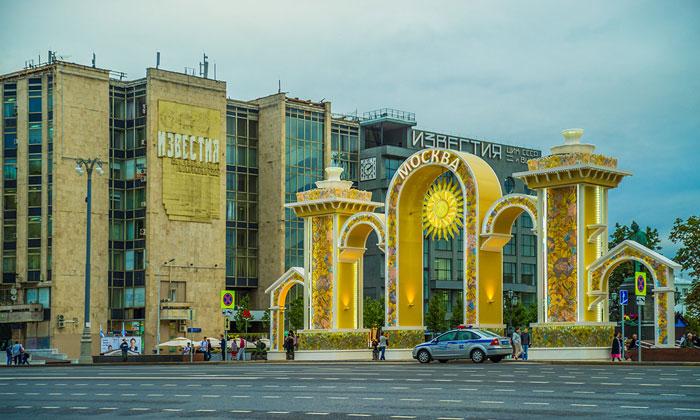 Старое здание газеты «Известия»