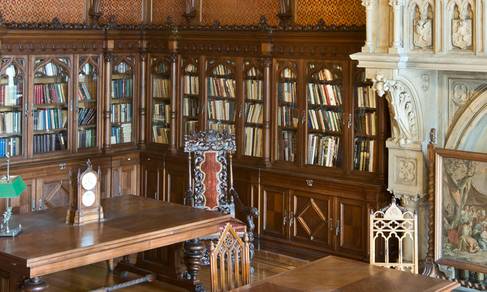 Библиотека Николая II в Эрмитаже