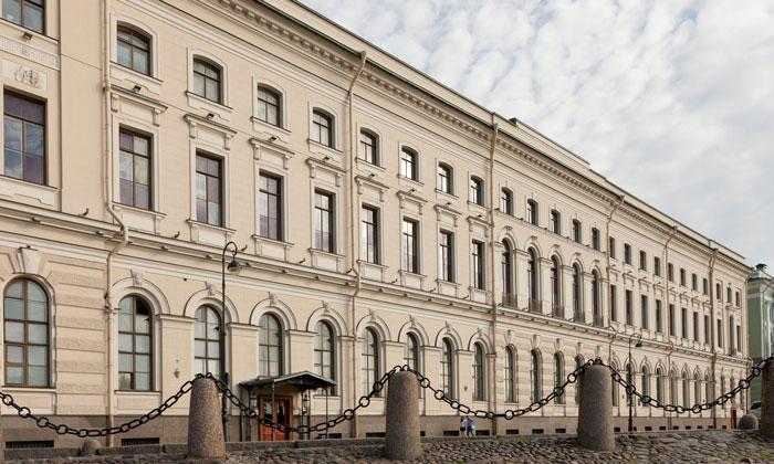 Большой (Старый) Эрмитаж в Санкт-Петербурге