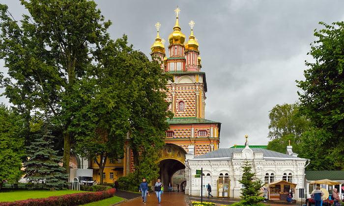 Церковь Иоанна Крестителя Троице-Сергиевой лавры