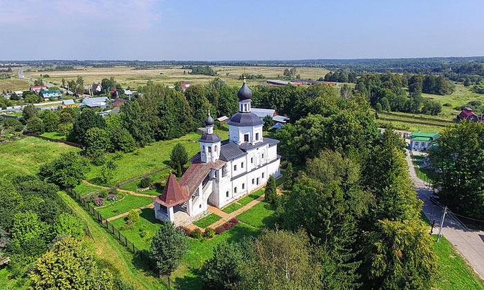 Деревня Бородино в России