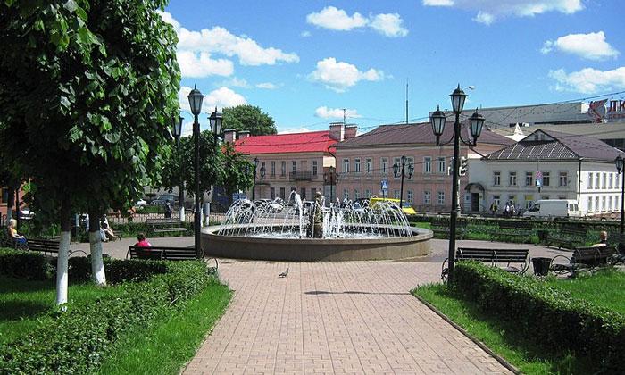 Город Клин в России