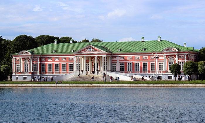 Господский дворец Кусково в Москве