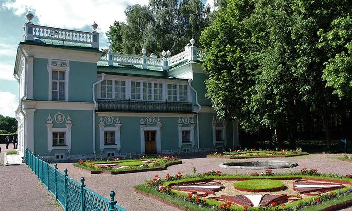 Итальянский домик в Кусково Москвы