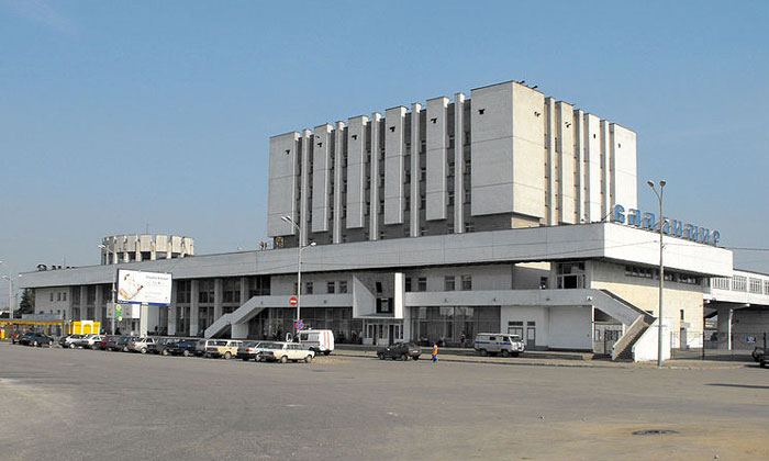 Железнодорожный вокзал Владимира в России