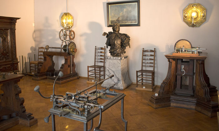 Токарная мастерская Петра I в Эрмитаже