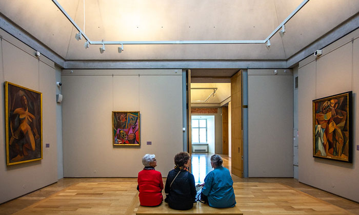 Картины Пабло Пикассо в Эрмитаже