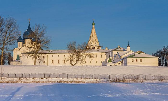 Суздальский Кремль в России