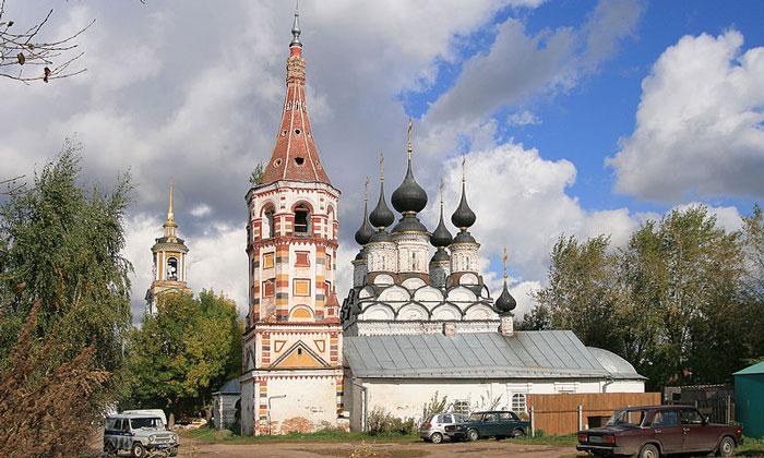 Лазаревская церковь в Суздале