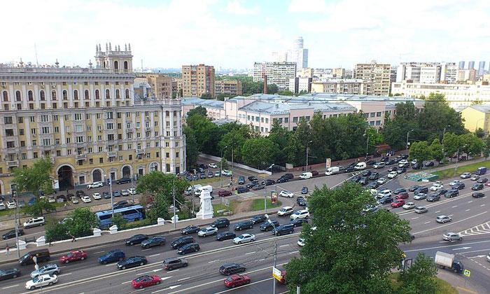 Ленинградский проспект в Москве