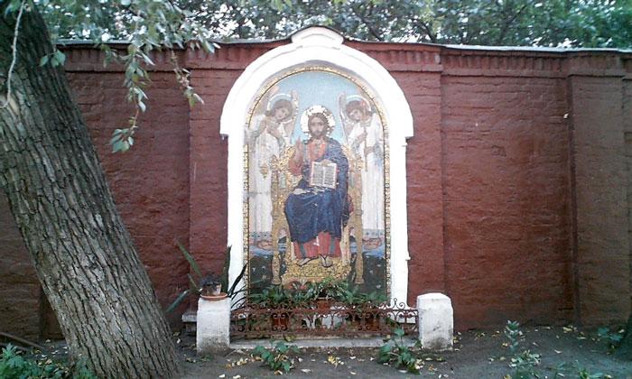 Мозаичное панно музея Васнецова в Москве