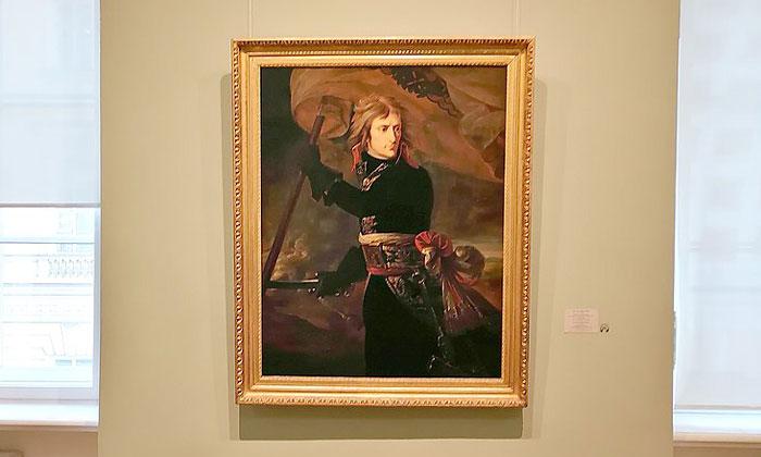 Картина «Наполеон на Аркольском мосту» в Эрмитаже
