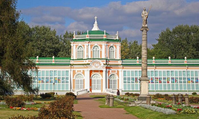 Музей керамики (Оранжерея) в Кусково Москвы