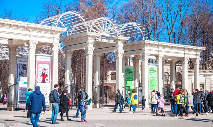 Парк «Сокольники» в Москве