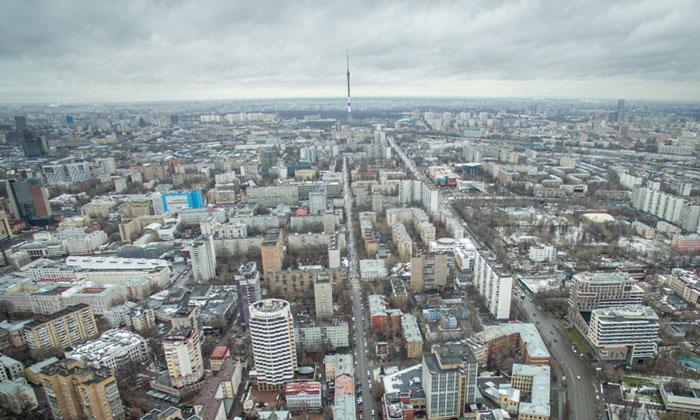 Район Марьина Роща в Москве