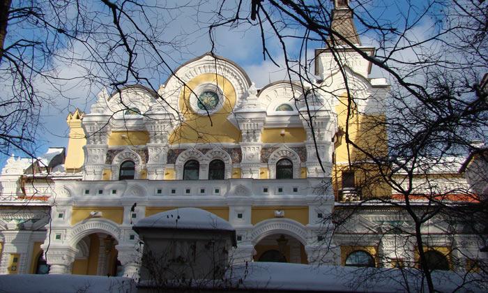 Резиденция патриарха Московского в Переделкине