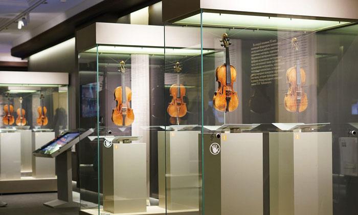 Скрипки музея музыки Москвы