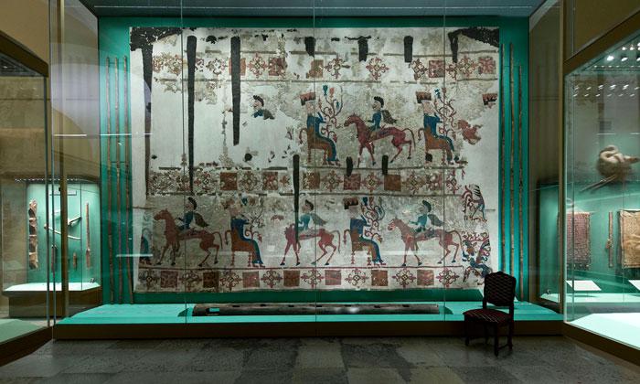 Войлочный ковёр Эрмитажа