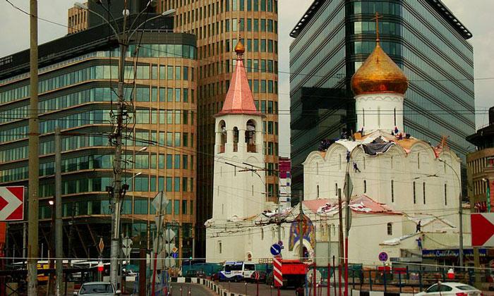 храм Николы Чудотворца у Тверской заставы Москвы