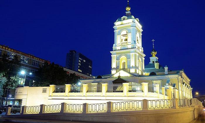 Храм Преображения Господня в Москве