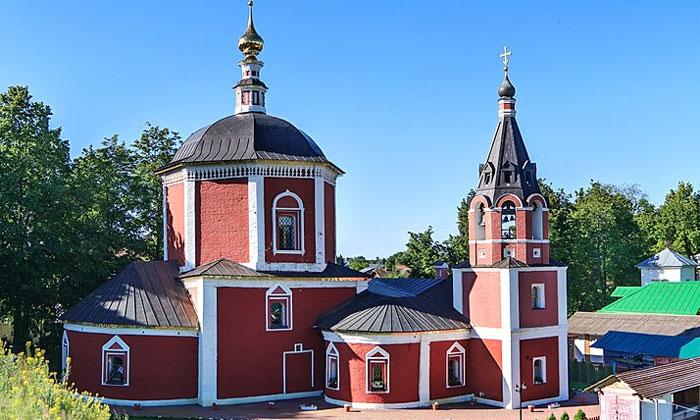 Успенская церковь в Суздале