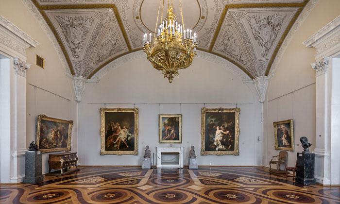 Искусство Франции XVIII века в Эрмитаже