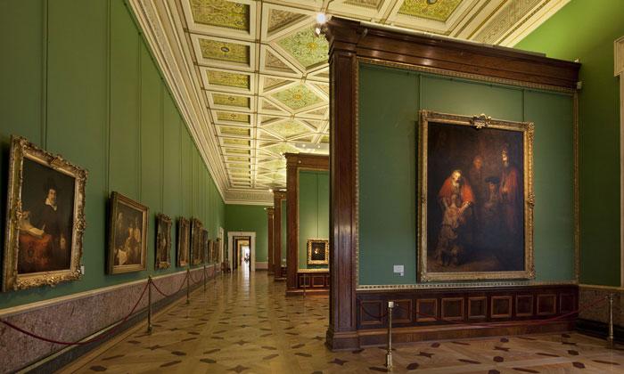 Картины Рембрандта в Эрмитаже