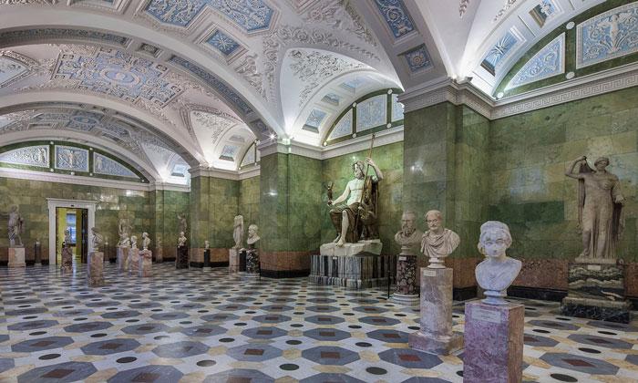 Зал Юпитера в Эрмитаже
