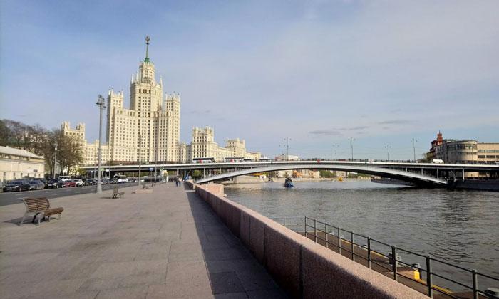 Вид на Заяузье от Воспитательного дома Москвы