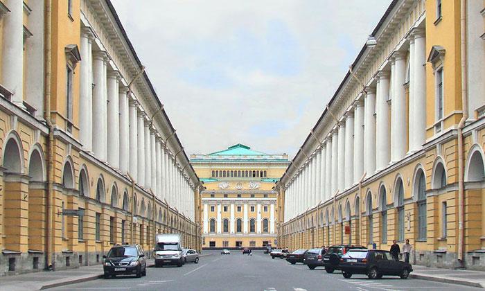 Академия русского балета Вагановой в Санкт-Петербурге