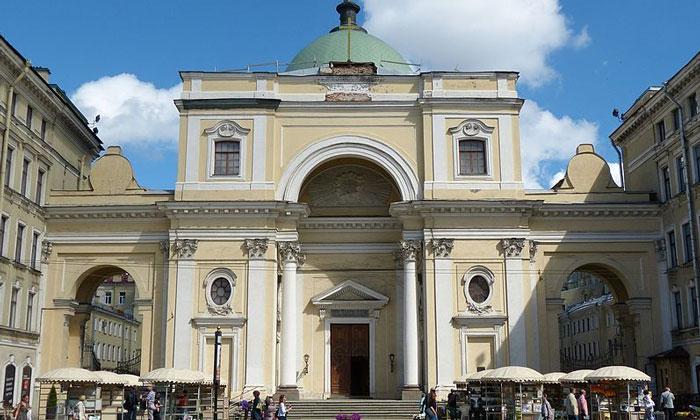 Базилика Святой Екатерины в Санкт-Петербурге
