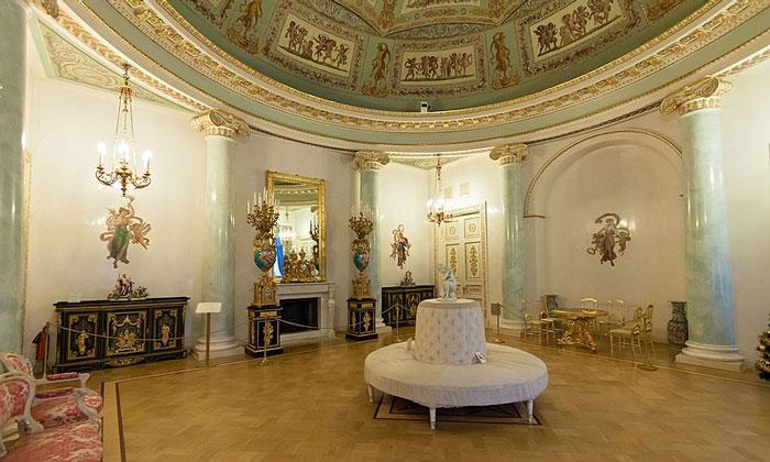 Большая Ротонда (Парадный кабинет) Юсуповского дворца Санкт-Петербурга
