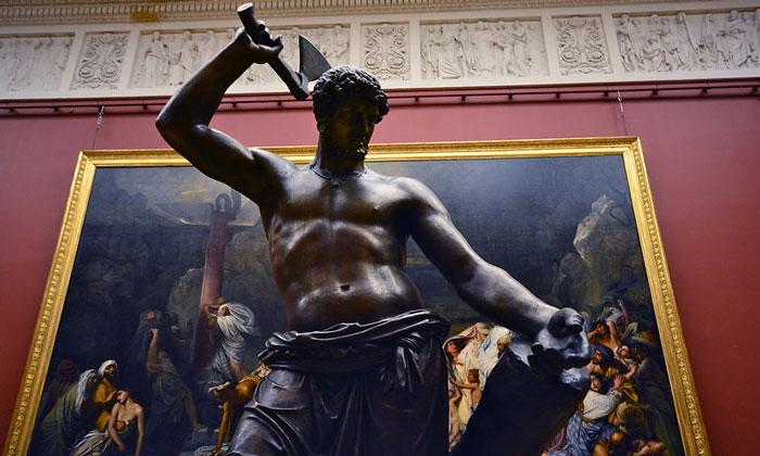 Статуя «Русский Сцевола» в Русском музее