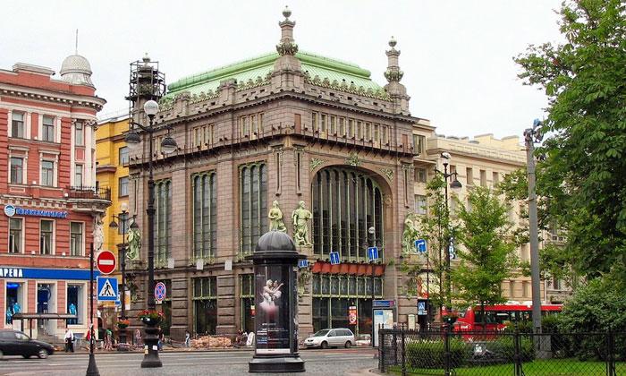 Дом Братьев Елисеевых в Санкт-Петербурге