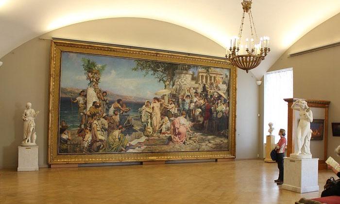 «Фрина на празднике Посейдона в Элевзине» в Русском музее