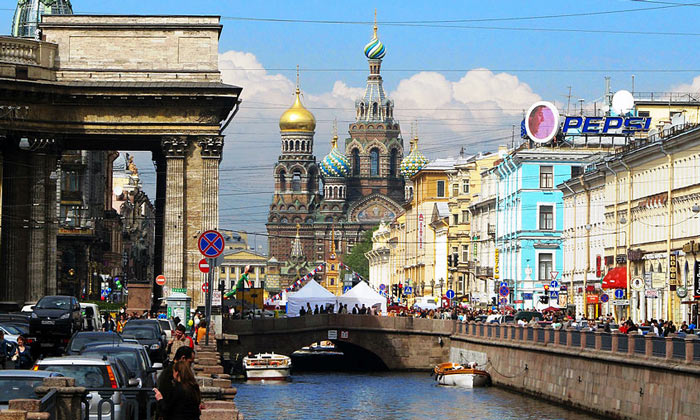 Канал Грибоедова в Санкт-Петербурге