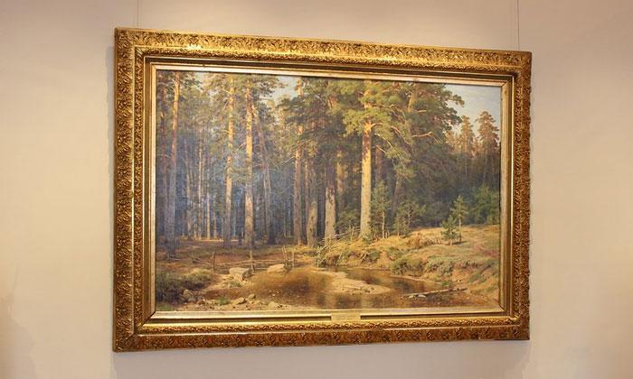 Картина «Корабельная роща» в Русском музее