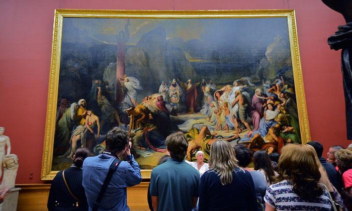Картина «Медный змий» в Русском музее