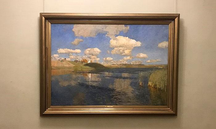 Картина «Озеро» в Русском музее