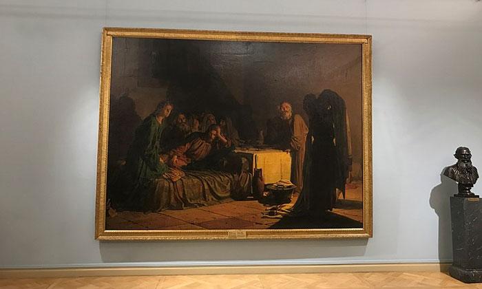 Картина «Тайная вечеря» в Русском музее