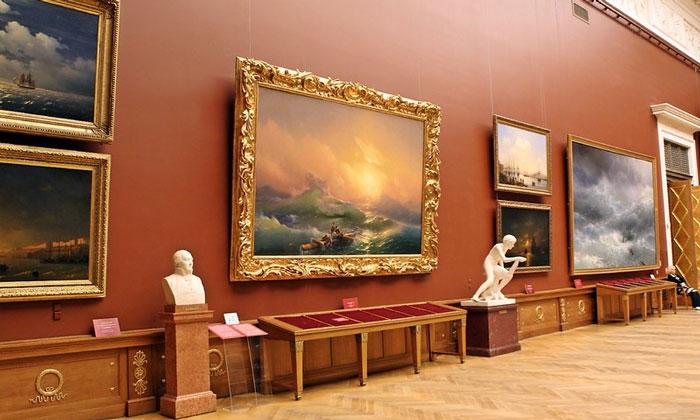 Картины Айвазовского в Русском музее